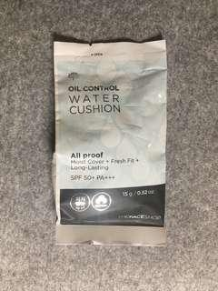 THE FACE SHOP Refill Oil Control Water Cushion SPF50+ V203 Natural Beige