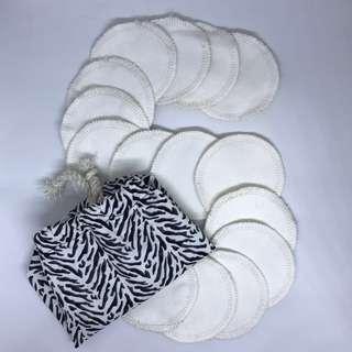 Reusable Facial Pads/Rounds ; Reusable Make Up Remover