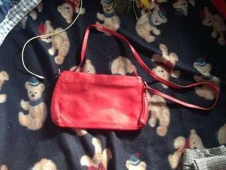 Red Sling Bag