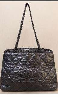 Authentic Chanel Chain Me Tote