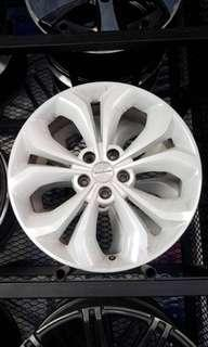 "Original 19"" Hyundai Santa Fe White Sport Rim"
