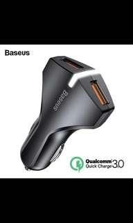Baseus Rocket Dual USB Car Charger