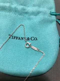Authentic Tiffany Sterling Silver chain