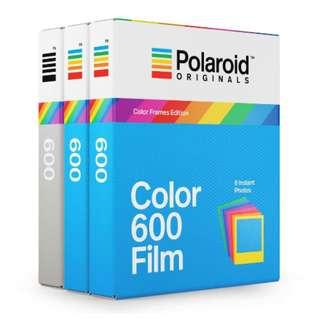 🚚 NEW! 600 Rainbow Frame Film Triple Pack