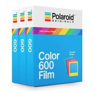 🚚 NEW! 600 Color Film Color Frames Triple Pack Polaroid Originals