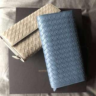 New!! Bottega Veneta long Wallet