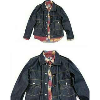 Ralph Lauren RRL Denim Selvedge Jacket