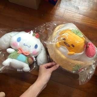 Sanrio plush toys