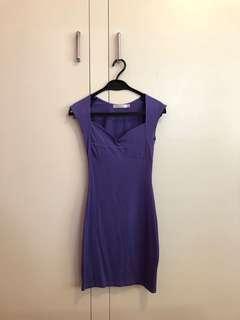 Minkpink Purple Bodycon Dress