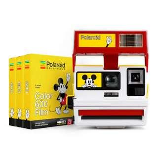 🚚 Polaroid x Disney Mickey Mouse 90th Anniversary Edition Set
