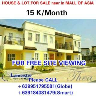 House and Lot For Sale near Makati,Pasay,MOA,Imus,Kawit,General Trias, Las Pinas,Paranaque