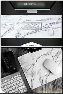 🚚 [居家生活]美感大理石紋滑鼠墊,桌墊