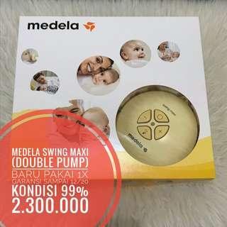 MEDELA Swing Maxi (Double Pump), garansi sampai 12/20