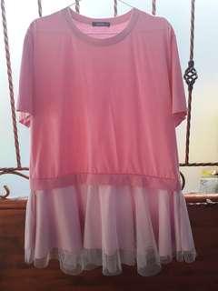 Pink Tutu Shirt