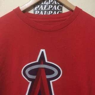 "Ts Los Angeles ""Angels"" MLB Sz S tag Majestic MLB ©2010"
