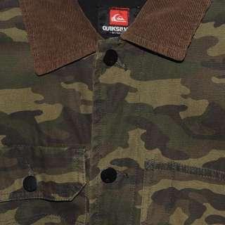 Quicksilver Camo Jacket - Size M