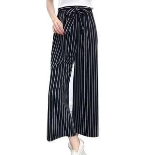 🚚 SALE Striped Wide Leg Pants