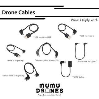 Drone Cables for DJI Spark, Mavic Air, and Mavic Pro