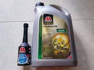 Millers Engine oil 5W40 5L
