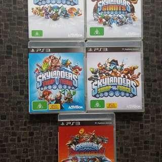 Skylanders PS3 games