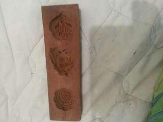 舊木製餅印