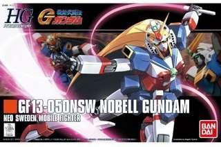 高達模型 GF13-050NSW Nobell GUNDAM 美少女哥達魯