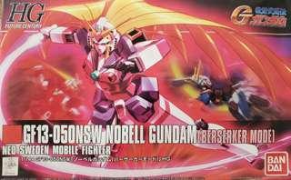 高達 模型 美少女 GF13-050NSW Nobell Gundam (BERSERKER MODE) 美少女哥達魯