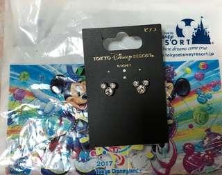 🆕日本迪士尼米奇耳環Earrings