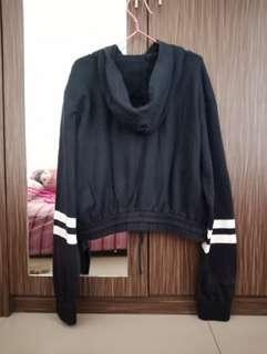 SALE!!! H&M sweter crop navy