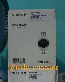 Nixon time teller original BNIB murah
