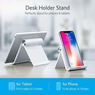 [NEW] Foldable Phone Holder Stand Tablet and Smartphone