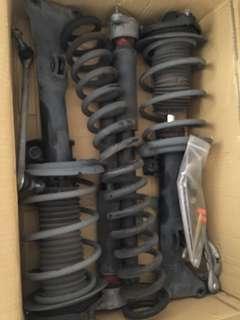 C200 w204 stock suspension