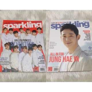 Sparkling Magazine Jung Hae In Seventeen