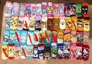Sanrio Japan Cartoon Socks