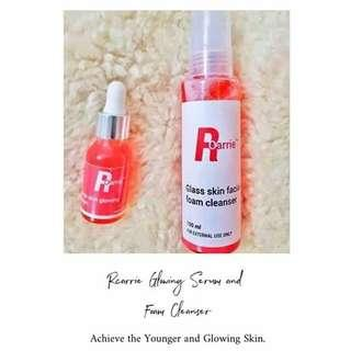 Rcarrie Foam Cleanser and Glowing Serum