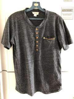 Diesel Henley Men T shirt slim