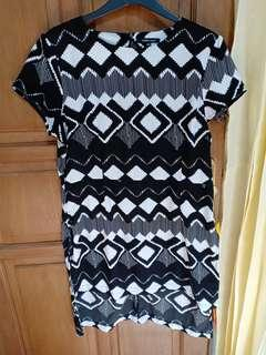 Eprice top black & white