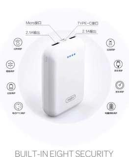 Full Capacity Power Bank Type C point