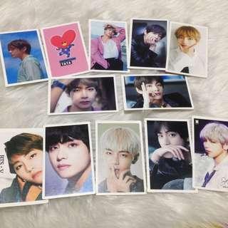 BTS V Kim Taehyung Photocards