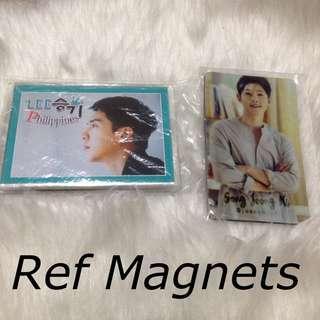 Lee Seung Gi, Song Joongki Ref Magnets