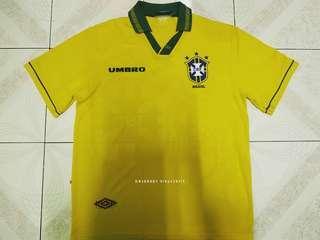 Brazil home jersey 93/94 M