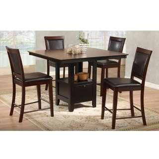 Camden Dining Set, solid wood, bought from Harvey Norman RM3000