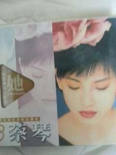 試音天碟蔡琴國語老歌發燒CD