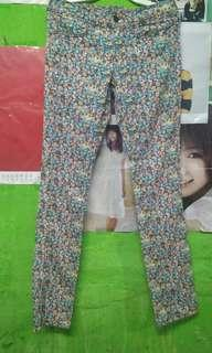 Celana jeans fullprint