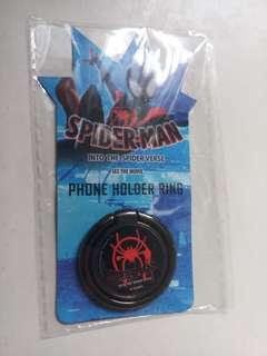 Spider Man:Into the Spiderverse Official Phone Holder Ring