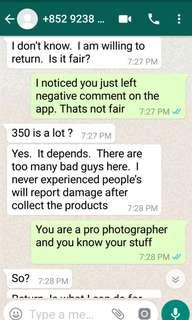 Sunny lee sold cam with defects (part 1)