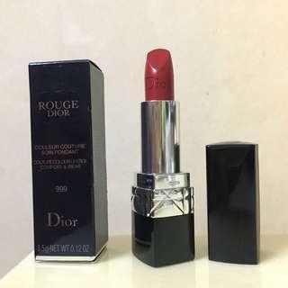 Dior Rouge Lipstick 999 3.5g 有效期: 2020 年