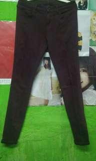 Jeans uniqlo maroon