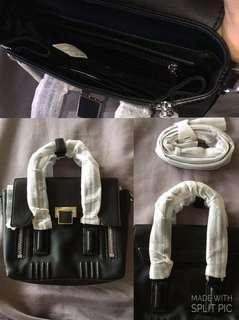 [Repriced] Black Charles & Keith 2-way Crossbody Bag (Originally 3,500php)
