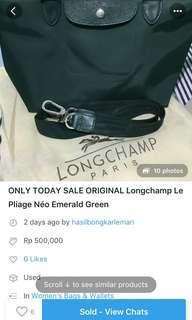 Another Precious Testi! - Longchamp Emerald Green